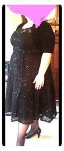 Sleeveless Black Cocktail Dress